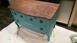 painting a table with chalk paint chalk paint and stain painted dresser hometalk