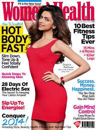 Women Magazine Deepika Padukone In Women U0027s Health Magazine India January