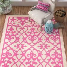 Pink Indoor Outdoor Rug Pink Outdoor Rugs Joss