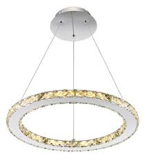 Led Pendant Light Fixtures Patriot Lighting Home Noah Dimmable Led Circle Pendant At