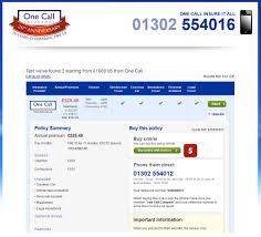 car insurance quote uk car insurance quote compare one call insurance