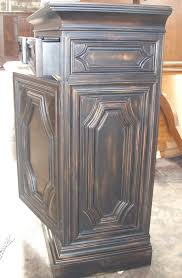 How To Paint Wood Furniture by Wisno Wood Furniture Finishing Antique Black Paint Finish