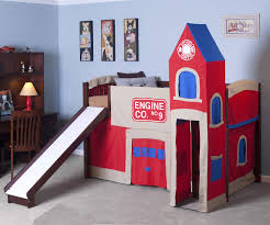 Playhouse Bunk Bed Firehouse Low Loft Bed 4060 Boys Playhouse Beds Ne Furniture