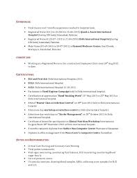 Critical Care Rn Resume Sample Resume For Advertising Project Coordinator Changing Careers