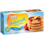 Toaster Waffles Great Value Blueberry Waffles 24 Count 29 6 Oz Walmart Com