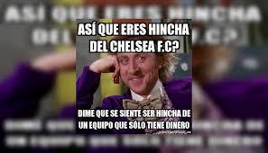Chelsea Meme - manchester united vs chelsea los divertidos memes que dej祿 el