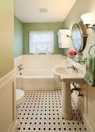 Retro Bathtubs 1930 U0027s Retro Corvallis Bath With Black And White Tile