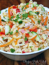 Pasta Salad Recipes Cold by Cold Chicken Pasta Salad Recipe Turning The Clock Back