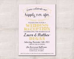 wedding reception invitation wording after ceremony wedding reception celebration after party invitation custom