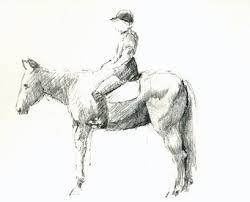 drawing horses u2013 mark koslow