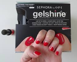 opi gel nail polish led light brbrittrich nailed it sephora by opi gelshine s high maintenance