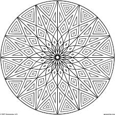 geometric pattern coloring pages geometric shapes cartoon