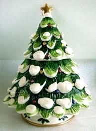 ceramic christmas tree with lights cracker barrel christmas tree cookie jar amodiosflowershop com