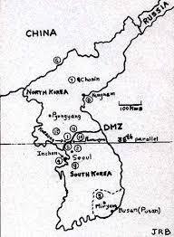 pusan on map war in korea in perspective jb