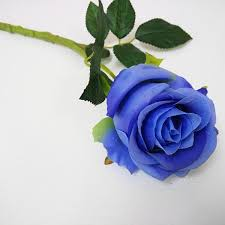blue roses for sale blue artificial single flowers for sale buy artificial