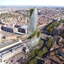 studio libeskind to build twisted garden tower in toulouse