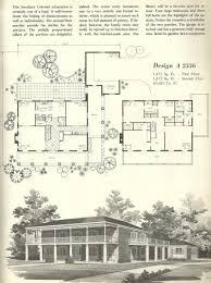 apartments mid century modern blueprints vintage house plans