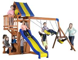 Metal Backyard Playsets by 9 Of The Best Swing Sets For Active Outdoor And Backyard Fun