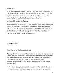advertising agency proposal advertising agency rfp template
