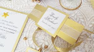 wedding invitations gold 30 wedding invitations gold glitter belly band set pink
