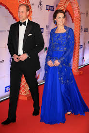 kate middleton stuns in beaded ball gown as she and prince william