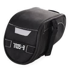 Waterproof Cushion Storage Bag by Cycling Saddle Bag Bicycle Seat Pouch Storage Bag Bike Rear Tail