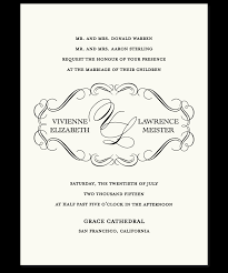 Wedding Invitations How To Sample Of A Wedding Invitation Iidaemilia Com
