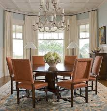 Dining Room Window Treatment Ideas Best Window Curtain New Dining Room Bay Ideas Image Of For Trends