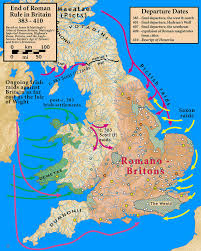 end of roman rule in britain wikipedia