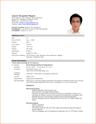 the best resume formal format of resume templates franklinfire co