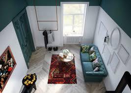 30 sq m eclectic 30 sq m apartment in poland viskas apie interjerą