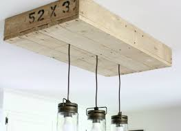 Home Lighting Design Tutorial Remodelaholic How To Make A Pallet Wood Light Box