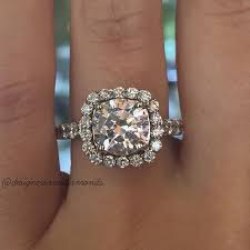 Square Wedding Rings by Top 10 Soft Square Halo Engagement Rings Designers U0026 Diamonds