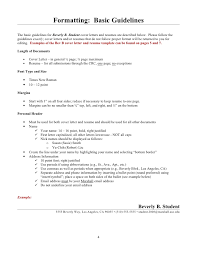 Resume Header Example by Beverly B Student Guide To Resumes And Cover Letters