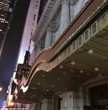 They Say The Neon Lights Are Bright On Broadway Broadway Lights In Nyc Were Dimmed To Honor Carrie Fisher And