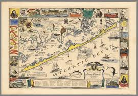 Island Beach State Park Map by Map Of The Romantic Island Of Long Beach New Jersey David