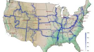 Map Of The State Of Kansas by A U0027whom Do You Hang With U0027 Map Of America Krulwich Wonders Npr