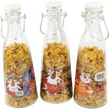 kelloggs frosties vintage retro tall large glass storage jar