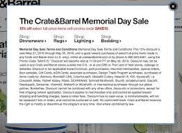 crate u0026 barrel coupons printable coupons in store u0026 coupon codes