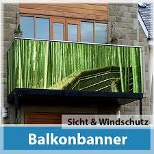 balkon sichtschutz balkon sichtschutz banner onlineshop