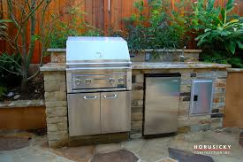Outdoor Kitchen Construction Outdoor Kitchens And Bbq Grills Horusicky Construction