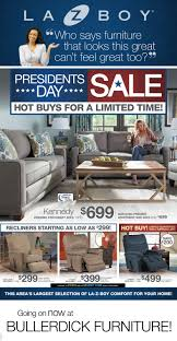 Presidents Day Furniture Sales by Bullerdick Furniture U0026 Mattress What U0027s New