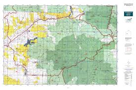 Colorado State County Map by Colorado Gmu 53 Map Mytopo