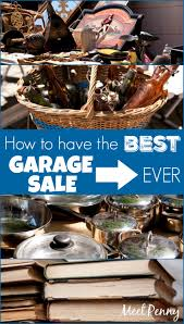 the best garage sale tips ever meet penny