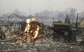 Wildfire Map Valley Fire by Lake County Wildfire Destroys At Least Four Homes As Crews Brace
