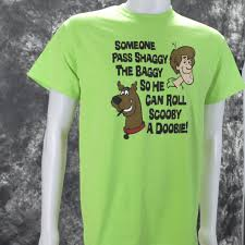 pass shaggy baggy roll scooby doobie shirt warehouse