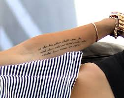 forearm quote tattoos miley cyrus u0027 new teddy roosevelt tattoo youtube