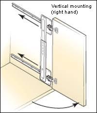 kitchen cabinet garage door hardware hardware for appliance garage for the home pinterest appliance
