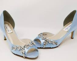 wedding shoes durban blue wedding shoes etsy