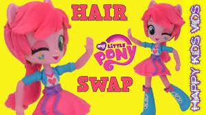 custom my little pony equestria girls pinkie pie apple jack hair